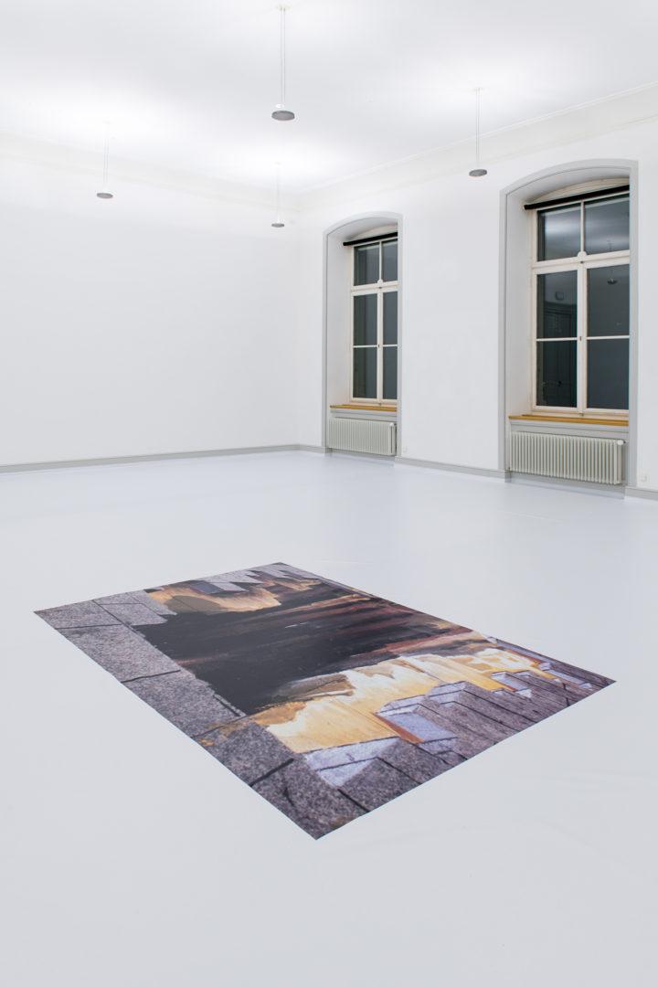 "Installation View Olga Balema ""It's a Mad, Mad, Mad, Mad World, 2018"" at Kunstmuseum St. Gallen / Photo: Sebastian Stadler / Courtesy: the artist"