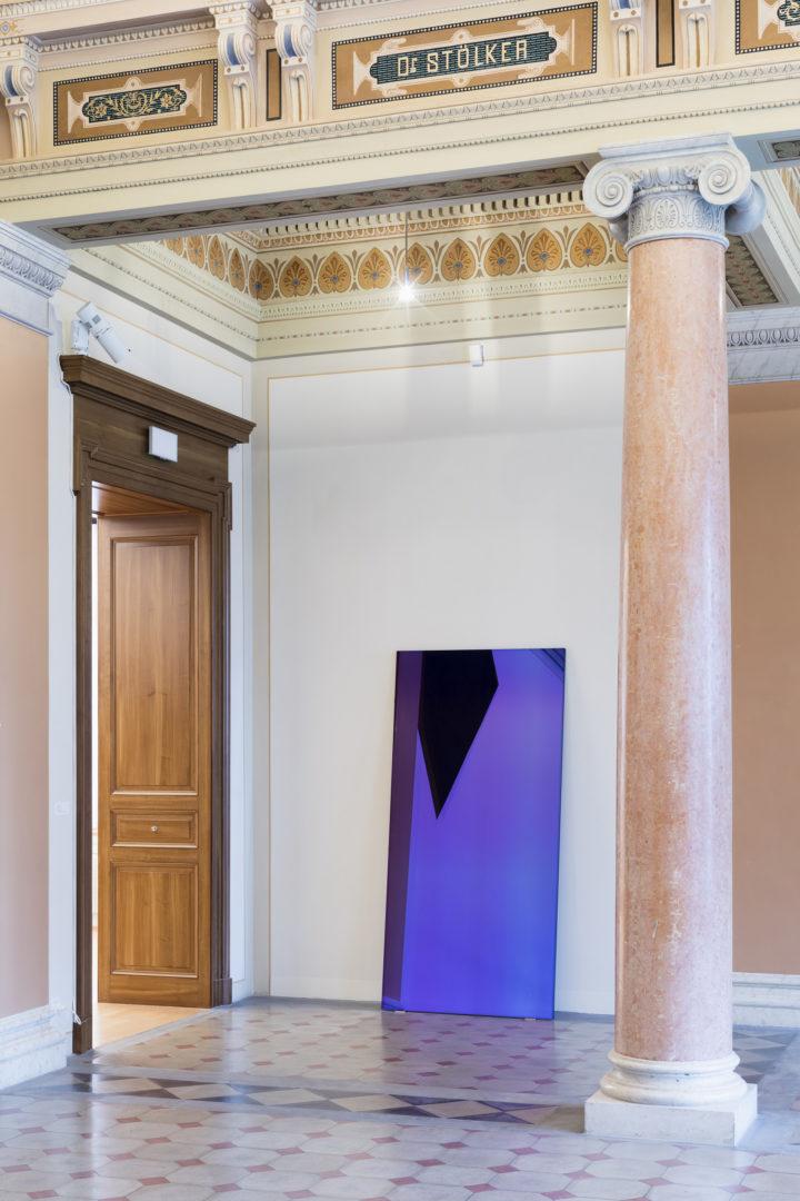 "Installation View Raphael Hefti ""Substraction as Addition, 2015"" Kunstmuseum St.Gallen, 2018 / Photo: Sebastian Stadler"