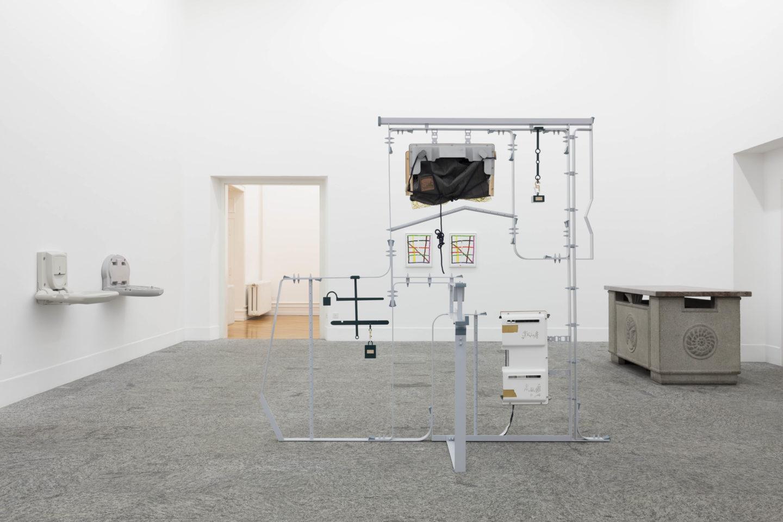 """Installation View """"Die Zelle"""" at Kunsthalle Bern, 2018 / Photo: Gunnar Meier"""