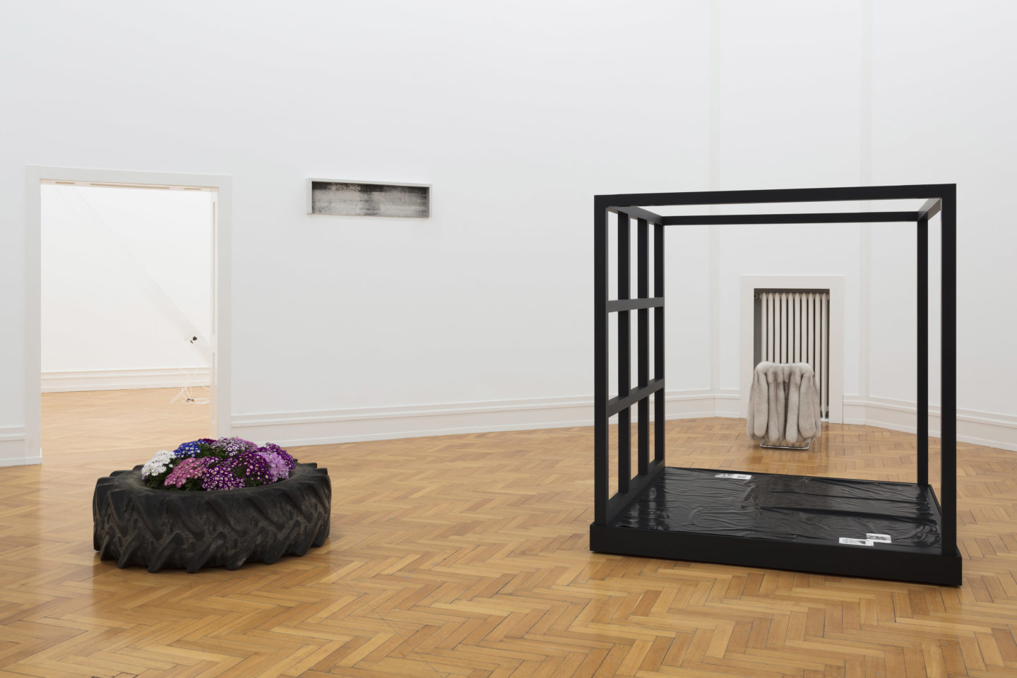 "Installation View ""Die Zelle"" at Kunsthalle Bern, 2018 / Photo: Gunnar Meier"