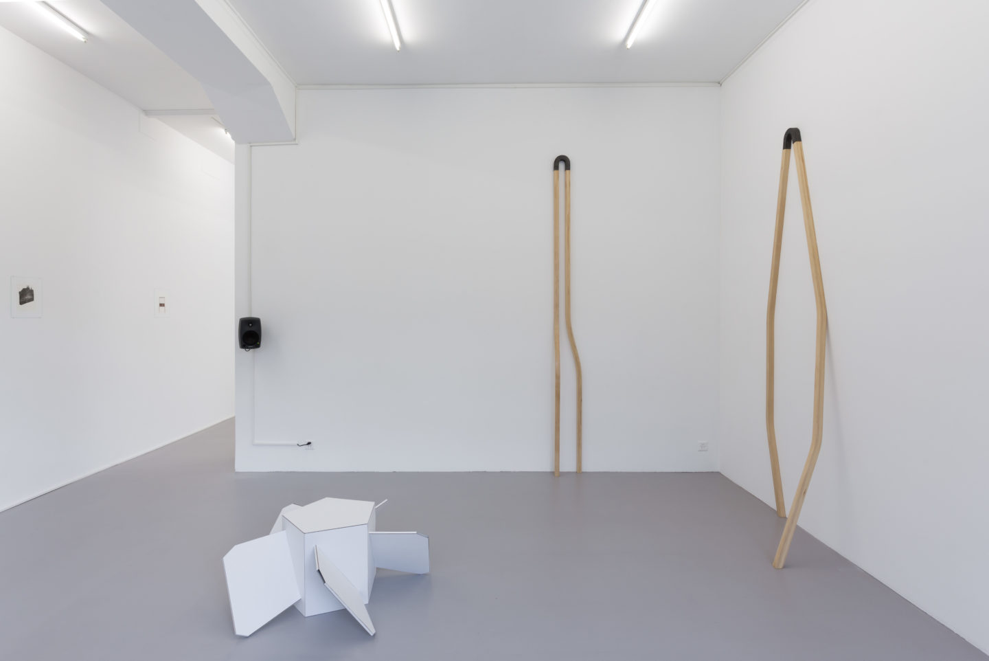 """Exhibition view """"Revitalise"""" at Bolte Lang / Courtesy: the artist and Bolte Lang"""