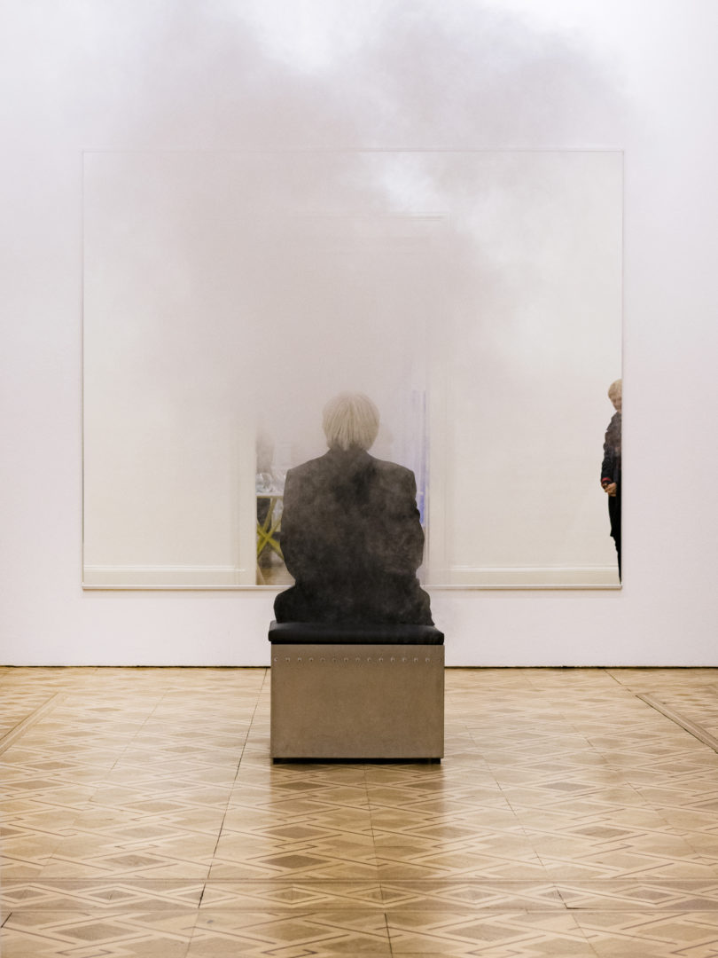 "Exhibition view Jeppe Hein ""Inhale, Hold, Exhale"" at Kunstmuseum Thun, 2018 / Photo: Ian G. C. White / Courtesy: the artist"