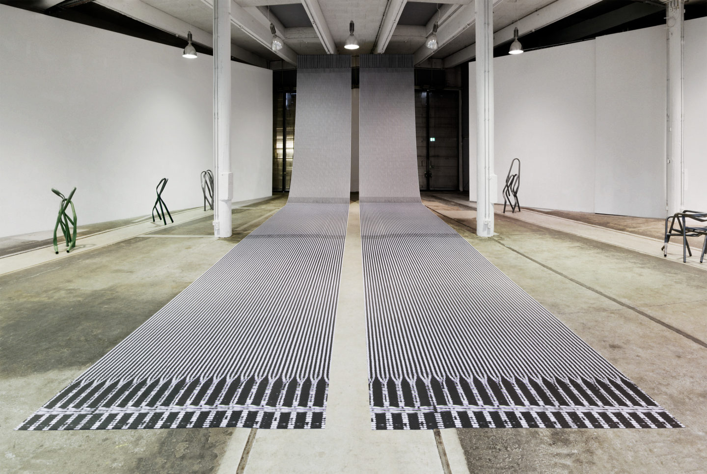 "Exhibition View Bettina Pousttchi ""Protection"" at Lokremise St.Gallen 2018 / Photo: Sebastian Stadler.Gallen_Foto_Sebastian_Stadler"