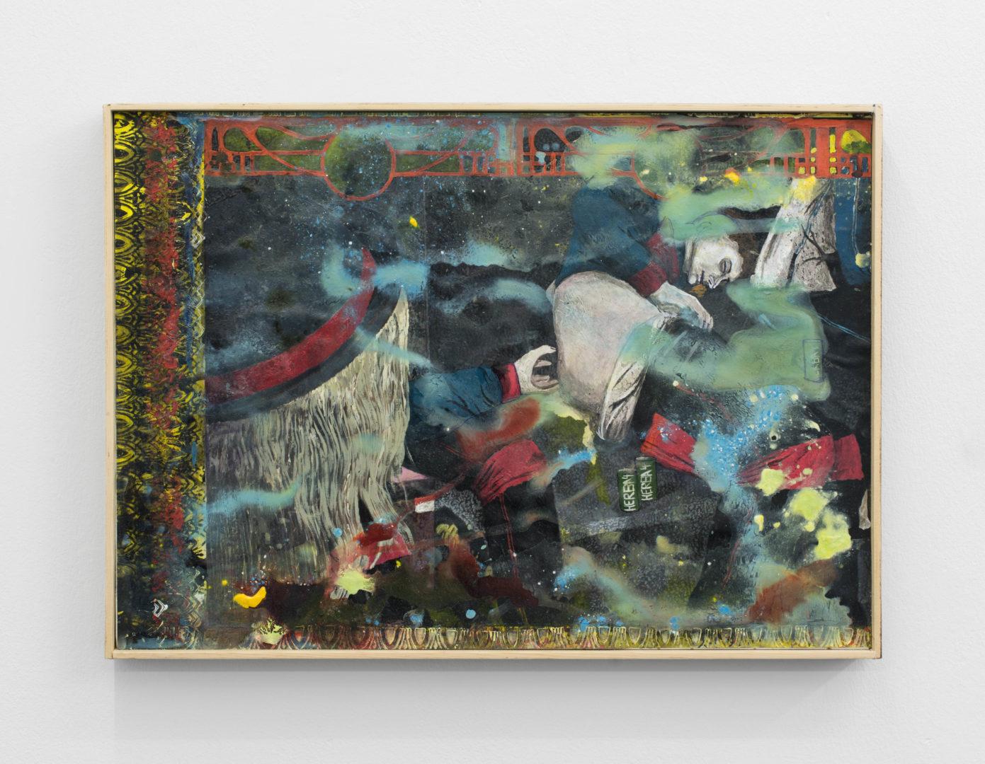 "Exhibition View Veit Laurent Kurz ""Selfless Devotion I (Herba-4 Series), 2017"" at Weiss Falk / Courtesy: Weiss Falk and the artist"