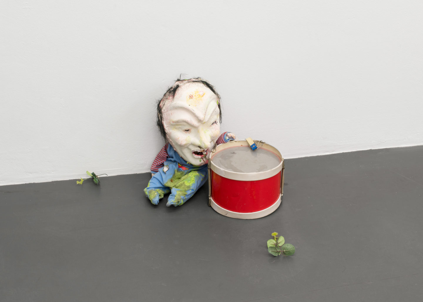 """Exhibition View Veit Laurent Kurz """"Aspects of Arriving"""" at Weiss Falk / Courtesy: Weiss Falk and the artist"""
