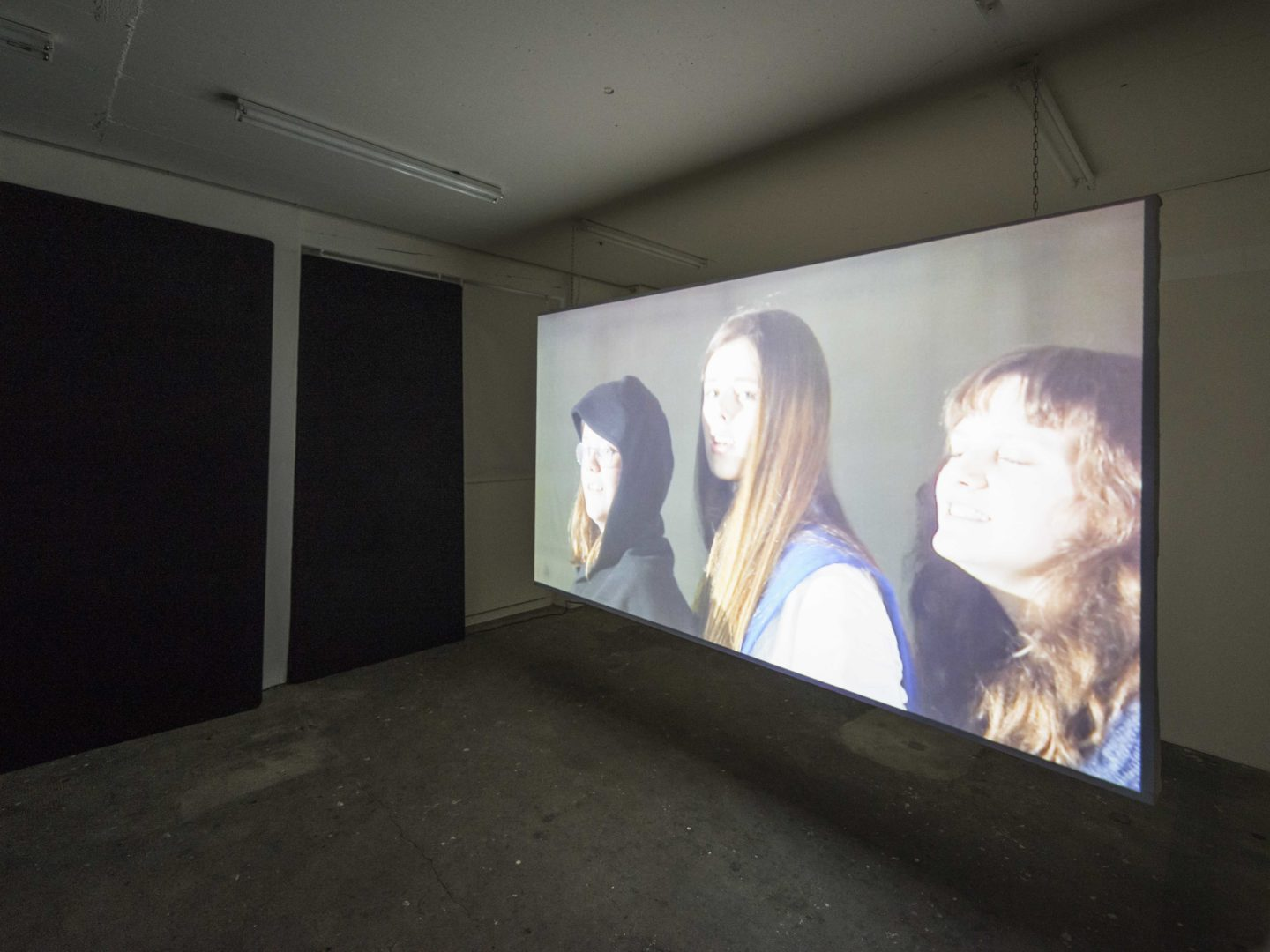 """Exhibition View Camille Alena """"We Win or We Die II"""" at Wallriss / Photo: Remy Ugarte / Courtesy: the artist"""