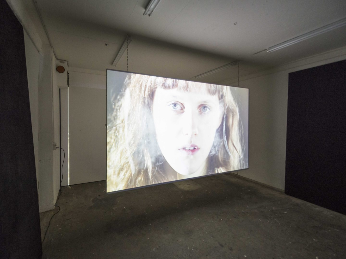 "Exhibition View Camille Alena ""We Win or We Die II"" at Wallriss / Photo: Remy Ugarte / Courtesy: the artist"