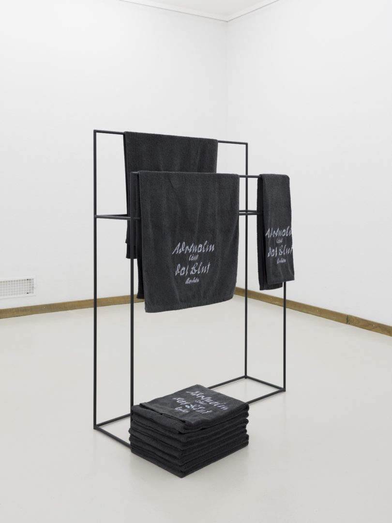 "Exhibition View Marta Riniker-Radich ""Infinity training, 2018"" at Kunsthaus Glarus / Photo: Gunnar Meier / Courtesy: the artist"