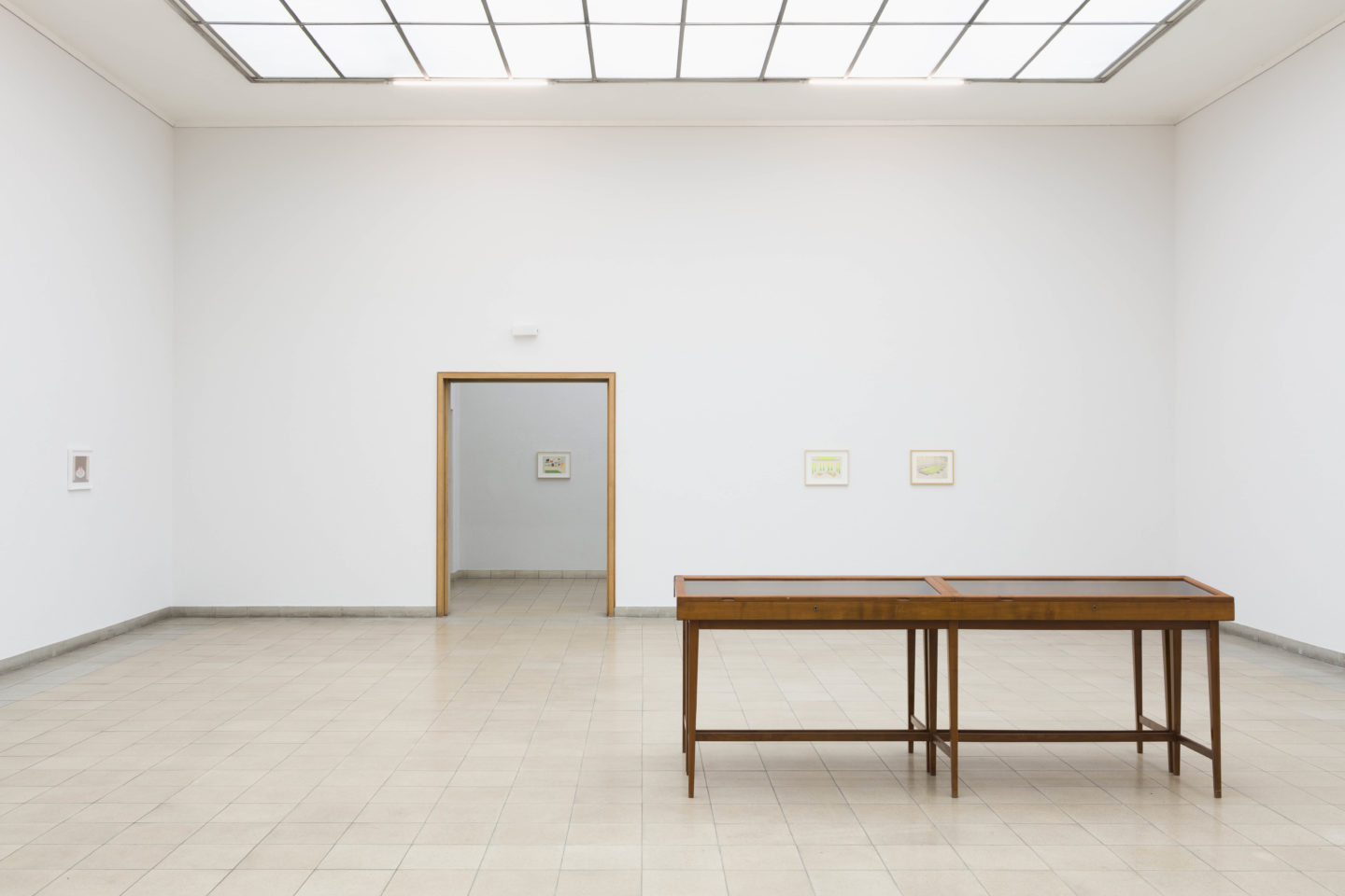 """Exhibition View Marta Riniker-Radich """"We, on the Other Hand, Can Do Everything Remotely, 2018"""" at Kunsthaus Glarus / Photo: Gunnar Meier / Courtesy: the artist"""