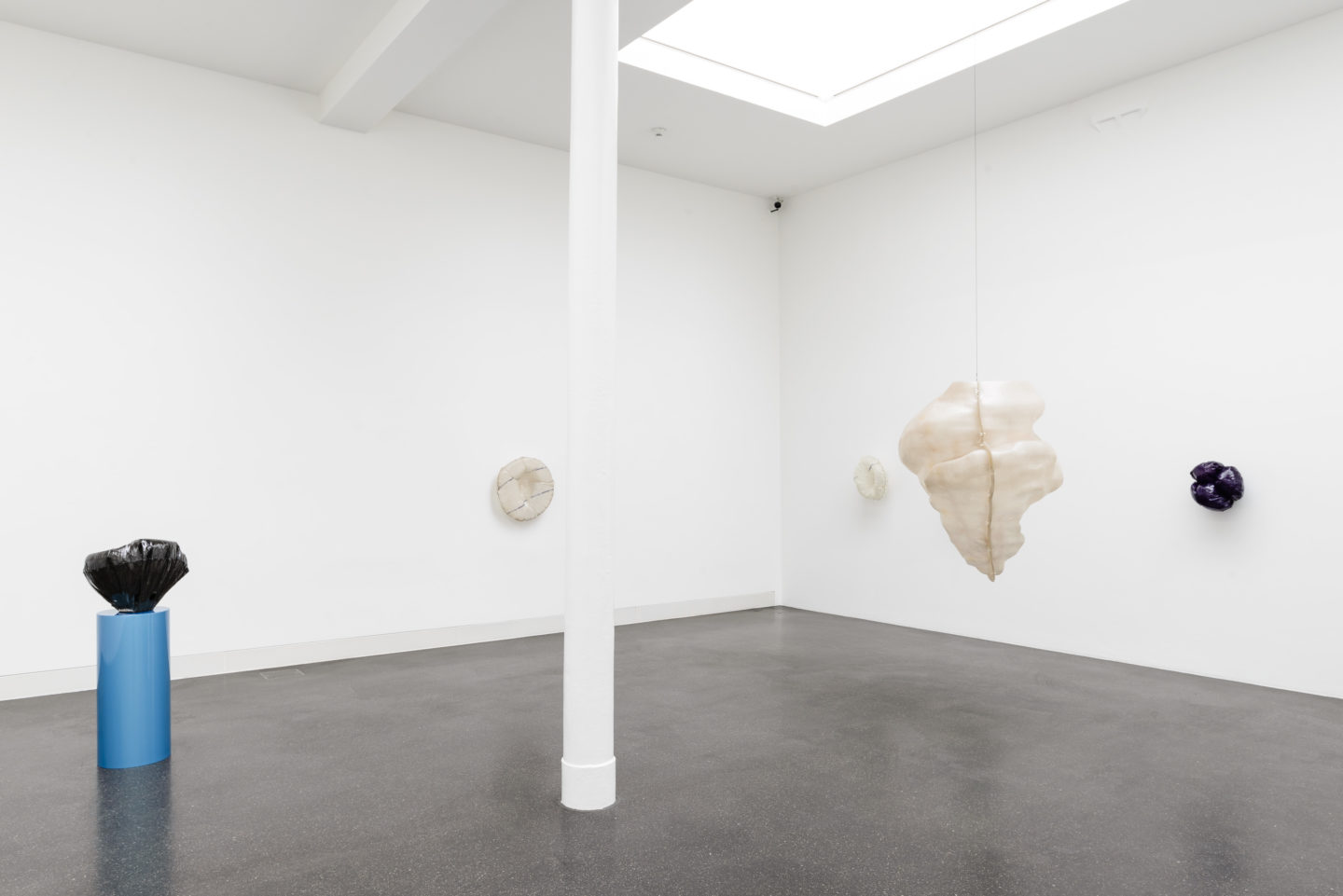 "Exhibition View Florian Germann ""Ringer"" at Galerie Gregor Staiger / Photo and Courtesy: Galerie Gregor Staiger, Zürich"