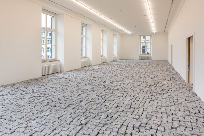 "Exhibition View Gianni Motti ""Refaire Le Monde EX*Position"" at Helmhaus Zürich / Photo: Thomas Burla / Courtesy: the artist and Helmhaus, Zurich"