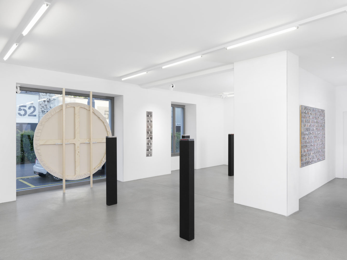Exhibition View Mitchel Anderson «Recurrence» at Galerie Maria Bernheim, Zurich / Photo: Annik Wetter / Courtesy: the artist and Galerie Maria Bernheim
