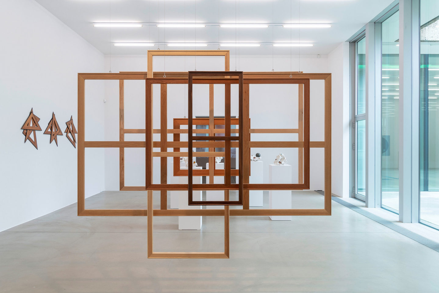Exhibition View Su-Mei Tse «Nested» at Aargauer Kunsthaus, 2018 / Photo: René Roetheli / Courtesy: the artist and Aargauer Kunsthaus