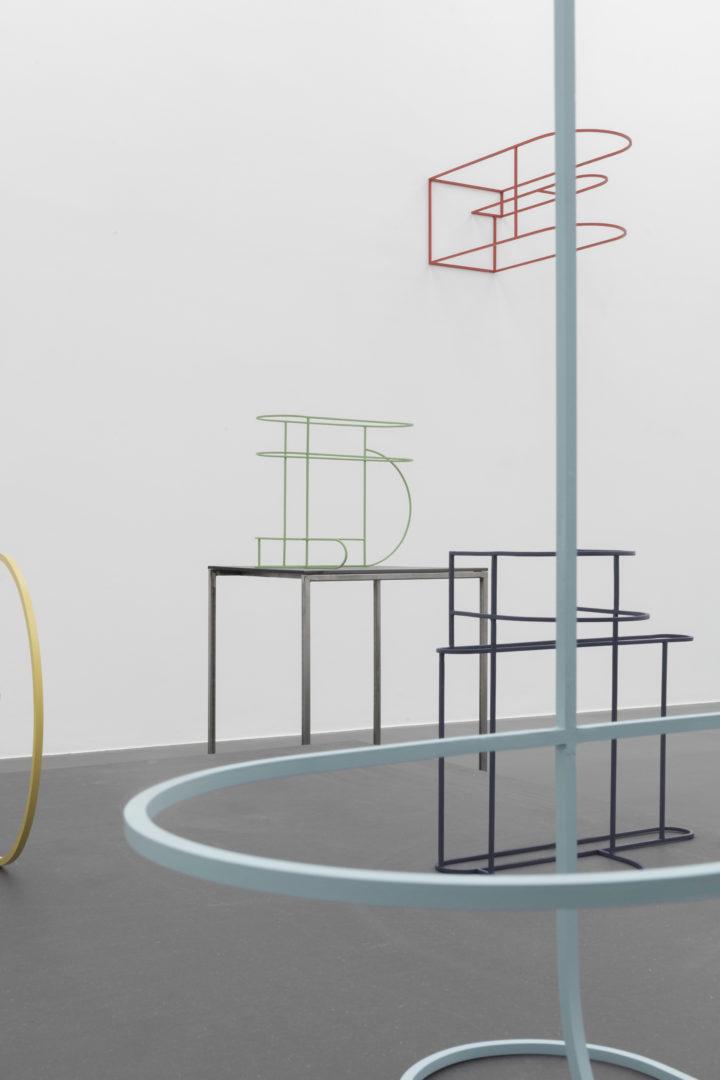 Exhibition View Boris Rebetez «Sentence at von Bartha, S-chanf, 2018 / Photo: Ben Koechlin / Courtesy: von Bartha