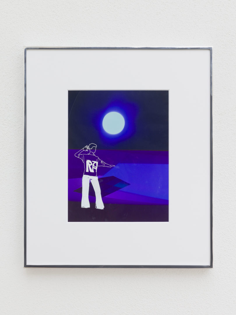 Exhibition View Bonnie Camplin «EPIC TIME – Purple RA Moon, 2018» at Kunsthaus Glarus / Photo: Gunnar Meier / Courtesy: the artist and Kunsthaus Glarus