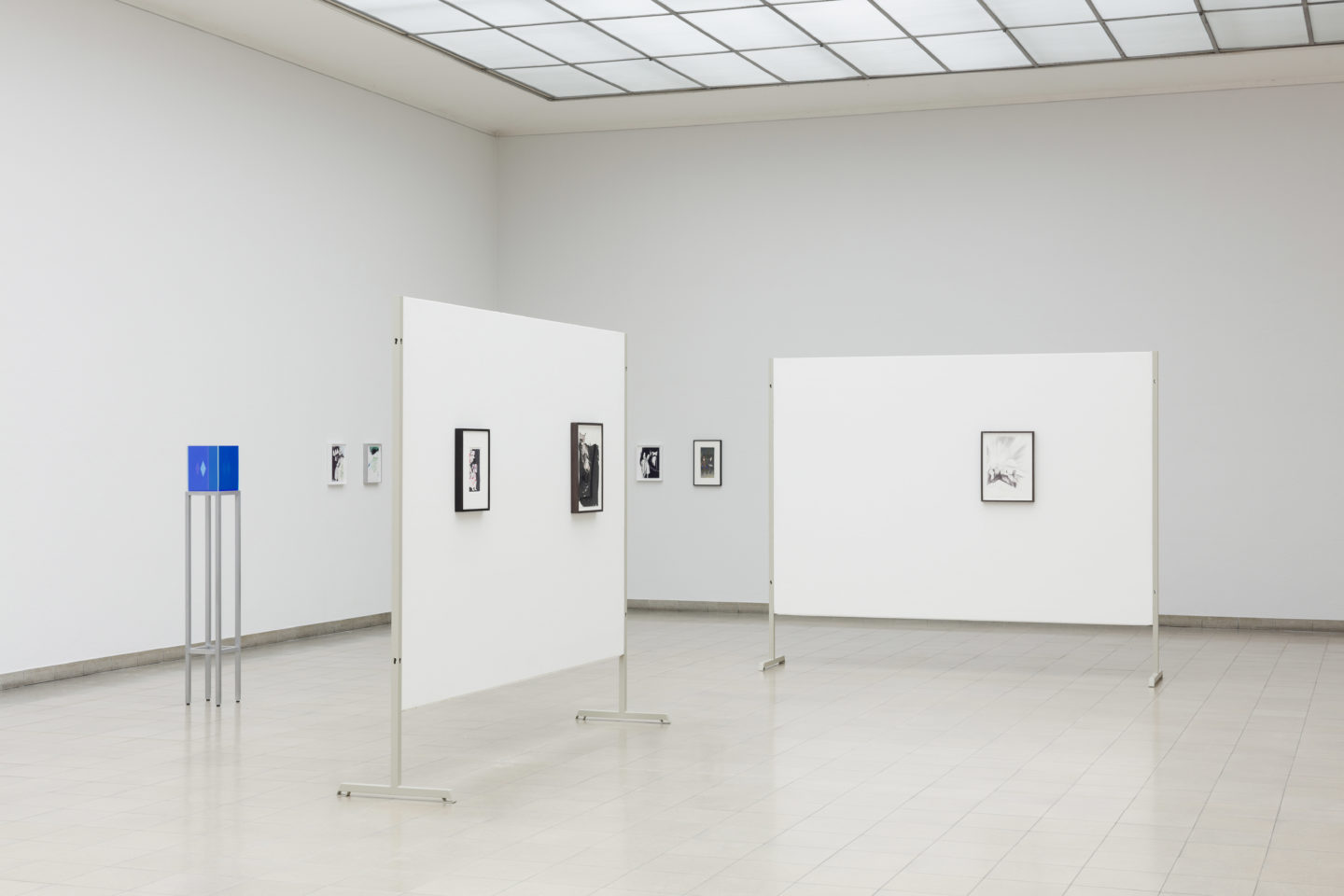 Exhibition View Bonnie Camplin «EPIC TIME» at Kunsthaus Glarus / Photo: Gunnar Meier / Courtesy: the artist and Kunsthaus Glarus