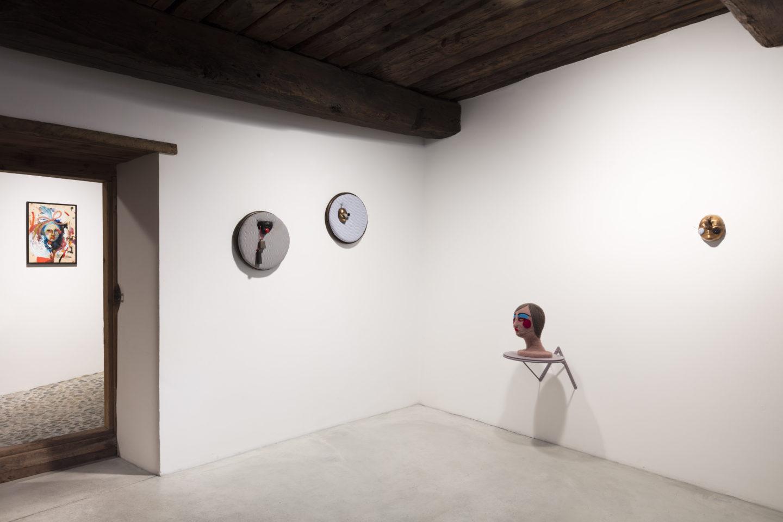 Exhibition View Tanja Roscic «Soloshow» at Galleria Monica de Cardenas, Zuoz / Courtesy: the artist and Monica de Cardenas