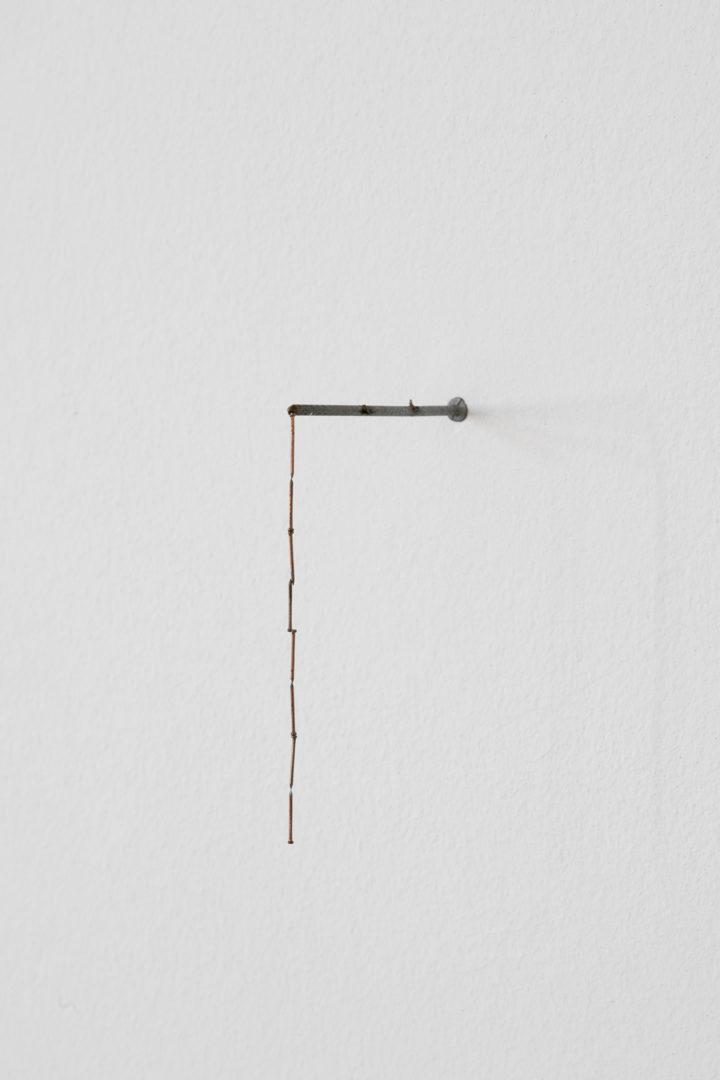 Installation View Nina Canell «Reflexologies / View on: Thins, 2015-2018» at Kunstmuseum St. Gallen, 2018 / Courtesy: Galerie Barbara Wien, Daniel Marzona und Mendes Wood / Photo: Sebastian Stadler