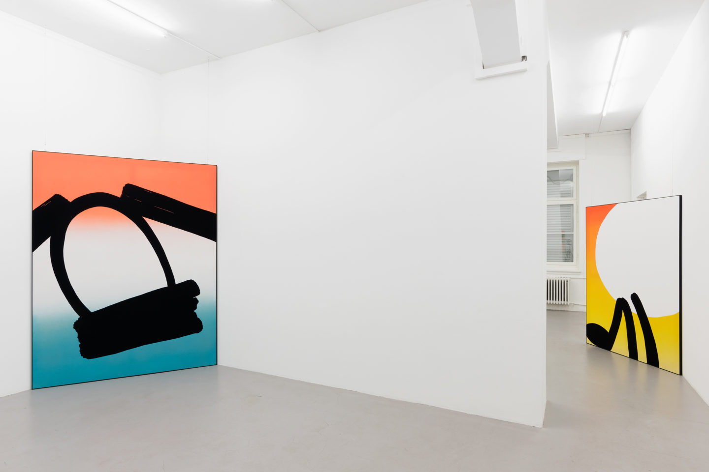 Exhibition View Cornelia Baltes «Mingle Mime» at Bolte Lang / Photo: Stefan Jaeggi / Courtesy: the artist and Bolte Lang