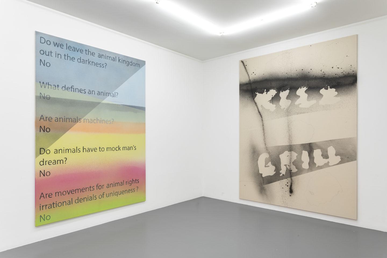 Exhibition View Jürgen Drescher «Kill Grill» at Mai 36 Galerie, Zurich / Photo & Courtesy: Mai 36 Galerie, Zurich and Pro Litteris-16