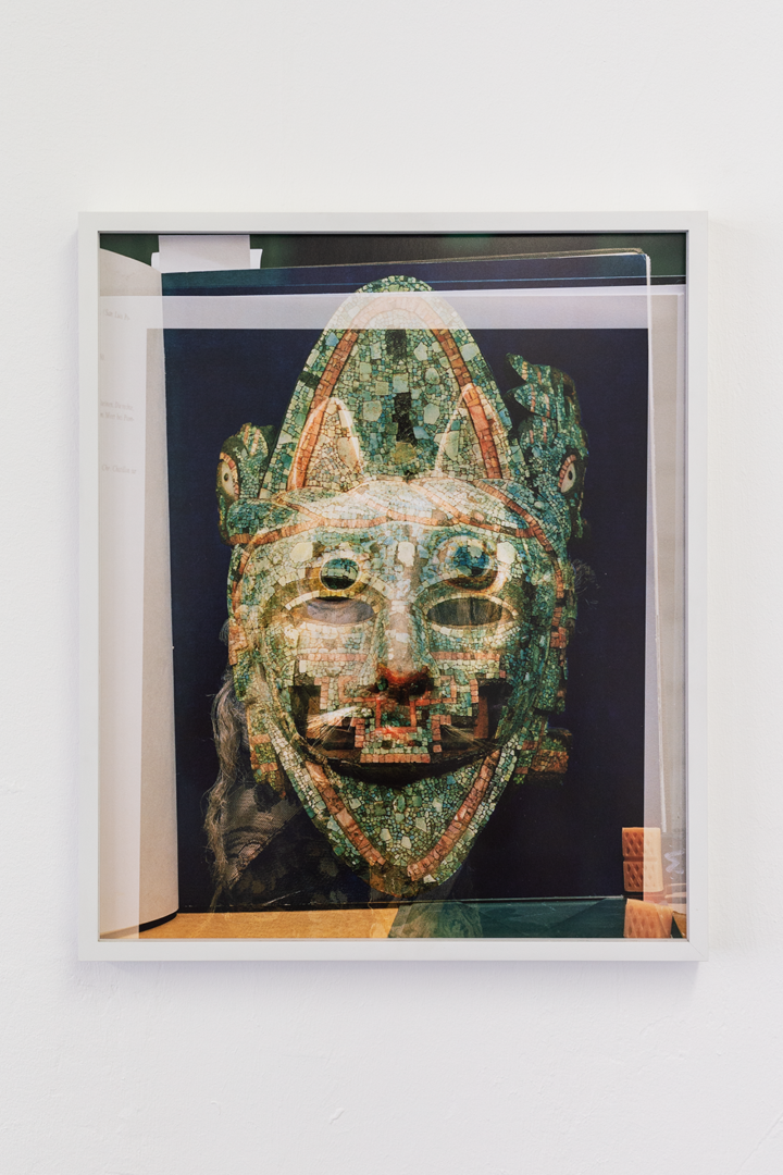 Installation View Groupshow «Double Take / view on Michael Etzensperger, Mask (no. 28), 2016» at Last Tango Zurich, 2018 / Photography: Kilian Bannwart / Courtesy: the artists and Last Tango