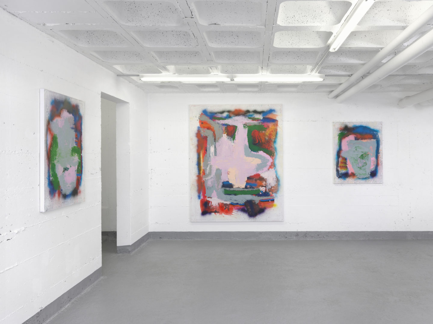 Exhibition View Marco Pariani «Vegan Racism» at Ribordy Contemporary, 2018 / Photo: Annik Wetter / Courtesy: the artist and Ribordy Contemporary