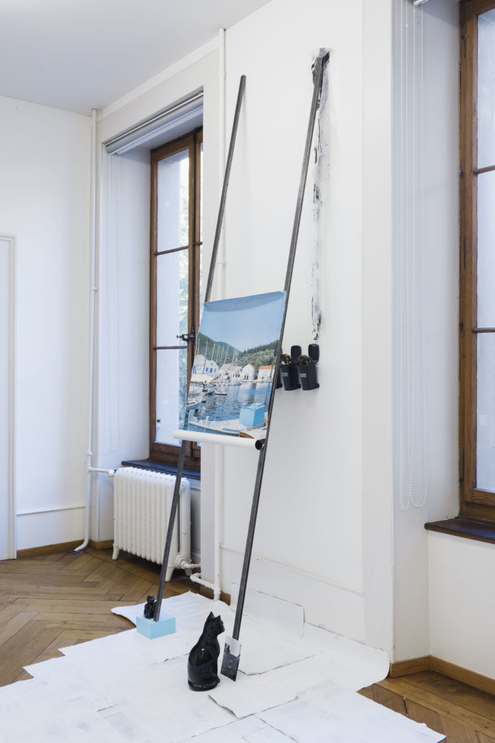 Exhibition View Groupshow «Zeitspuren – The Power of Now with Sophie Jung» at PASQUART, Biel/Bienne, 2018 / Photo: Gunnar Meier / Courtesy: the artist