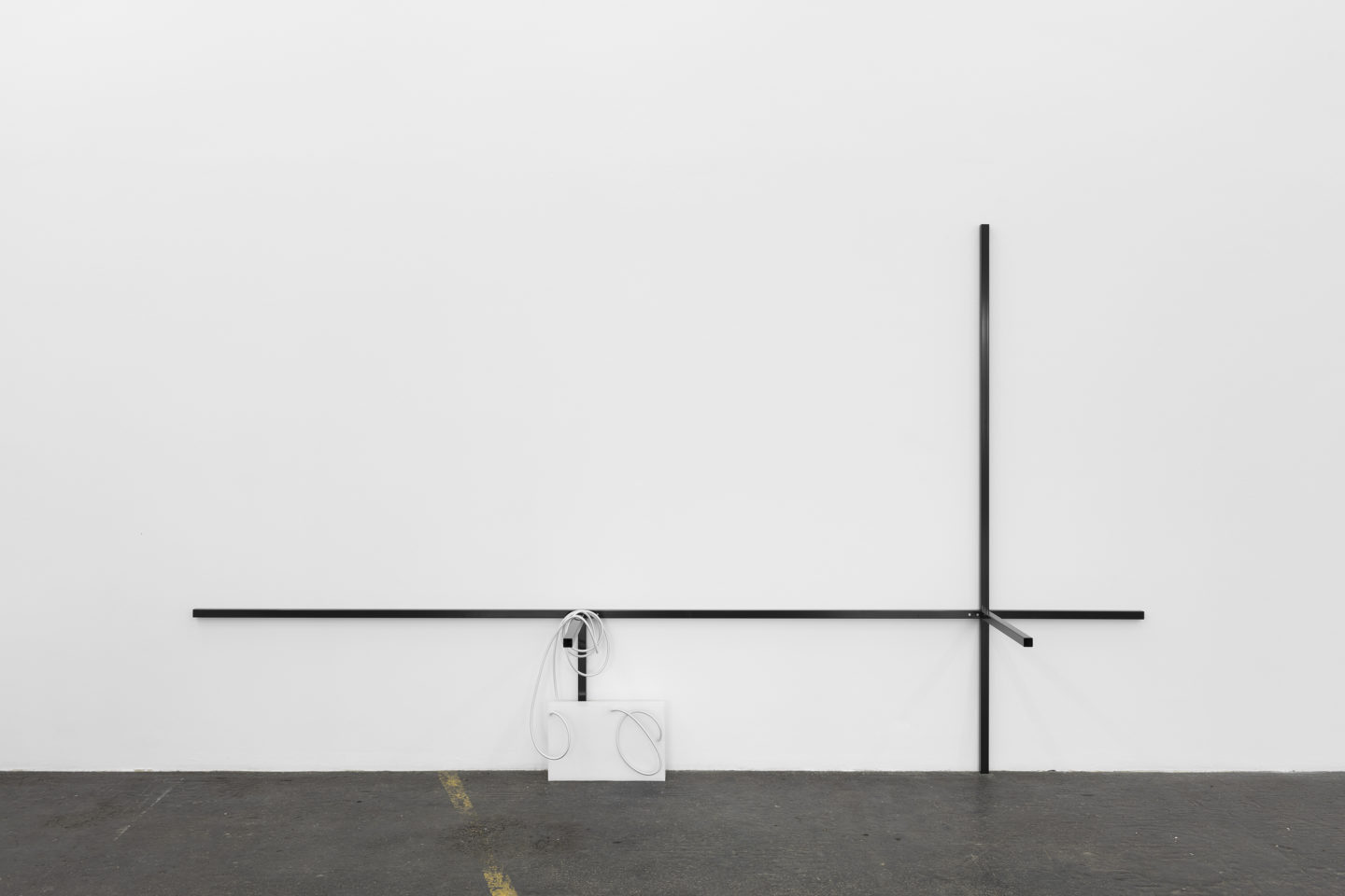 Exhibition View Valentina Stieger Soloshow «Indoor Life / view on Another Ambient System 3, 2018; Casted Conditions 1, 2018» at Kunsthalle St. Gallen / Photo: Kunst Halle Sankt Gallen, Gunnar Meier / Courtesy: the artist and Galerie Stampa, Basel