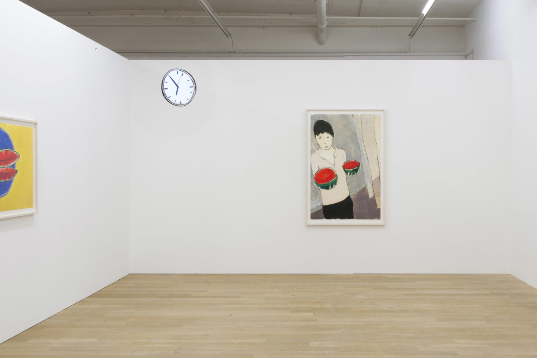 Exhibition View Zilla Leutenegger «Casa Blanca» at Galerie Peter Kilchmann, Zurich / Courtesy: the artist and Galerie Peter Kilchmann