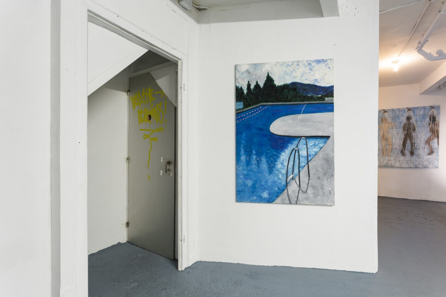 Exhibition View Groupshow «Dieter Hall & Xénia Lucie Laffely» at Last Tango, Zurich / Photo: Kilian Bannwart / Courtesy: the artist and Last Tango, Zurich
