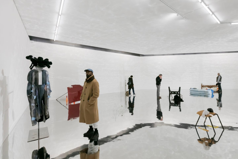 Exhibition View Sophie Jung «The Bigger Sleep» at Kunstmuseum Basel Gegenwart, 2018 / Photo: Julian Salinas