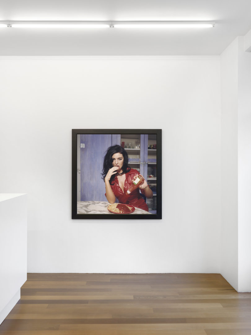 Exhibition View Bettina Rheims Soloshow at Xippas, Geneve / Photn: Annik Wetter / Courtesy: the artist and Xippas, Geneva