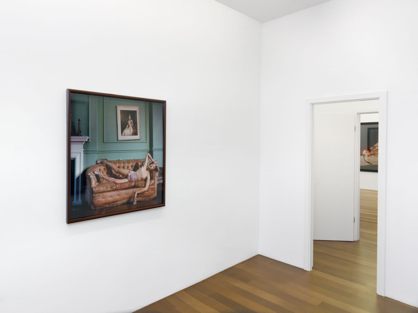 Exhibition View Bettina Rheims Soloshow at Xippas, Geneve / Photn: Annik Wetter / Courtesy: the artist and Xippas, Geneva