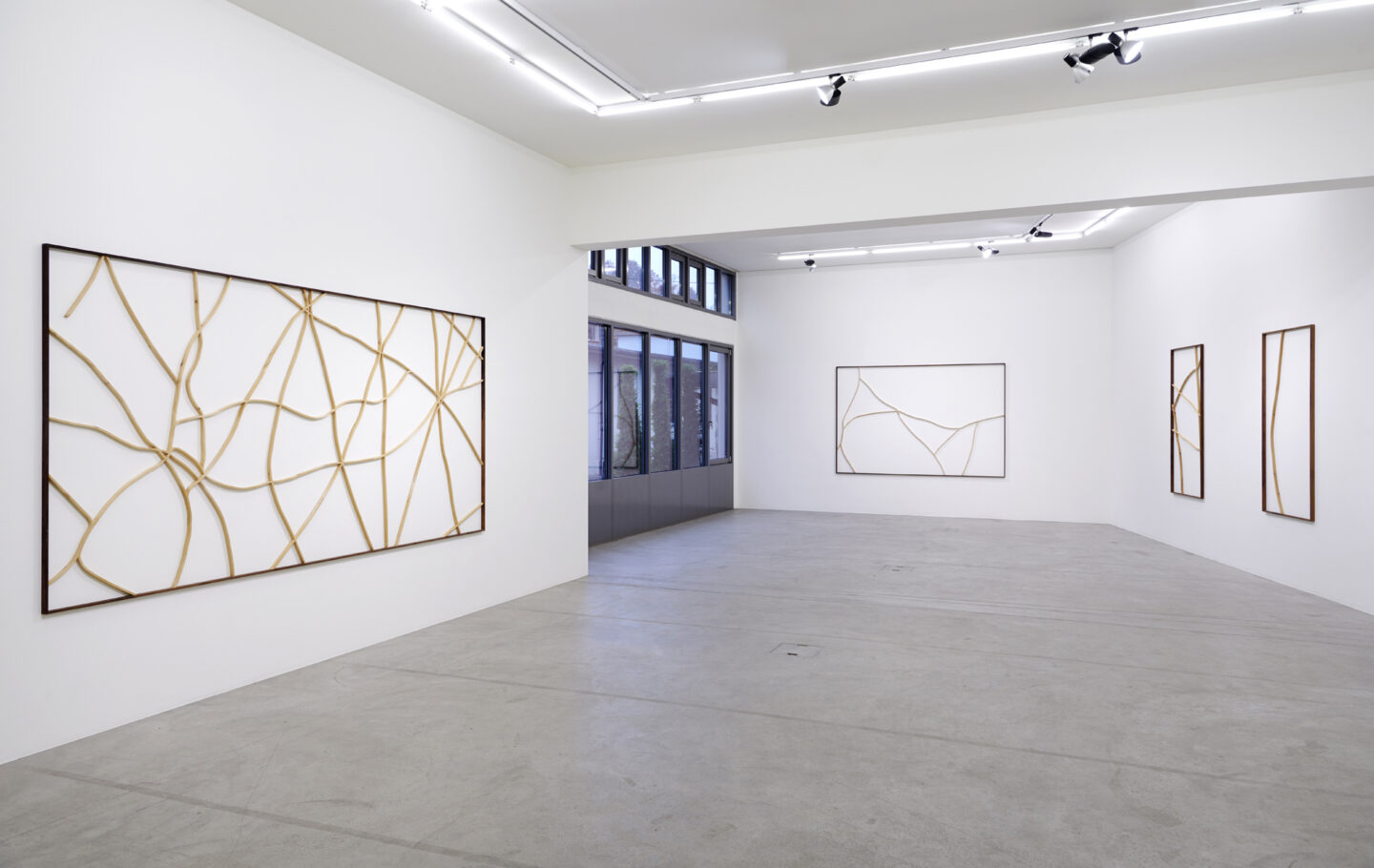 Exhibtion View Mirko Baselgia Soloshow «Habitat» at Galerie Urs Meile, Luzern, 2018 / Courtesy: the artist and Galerie Urs Meile