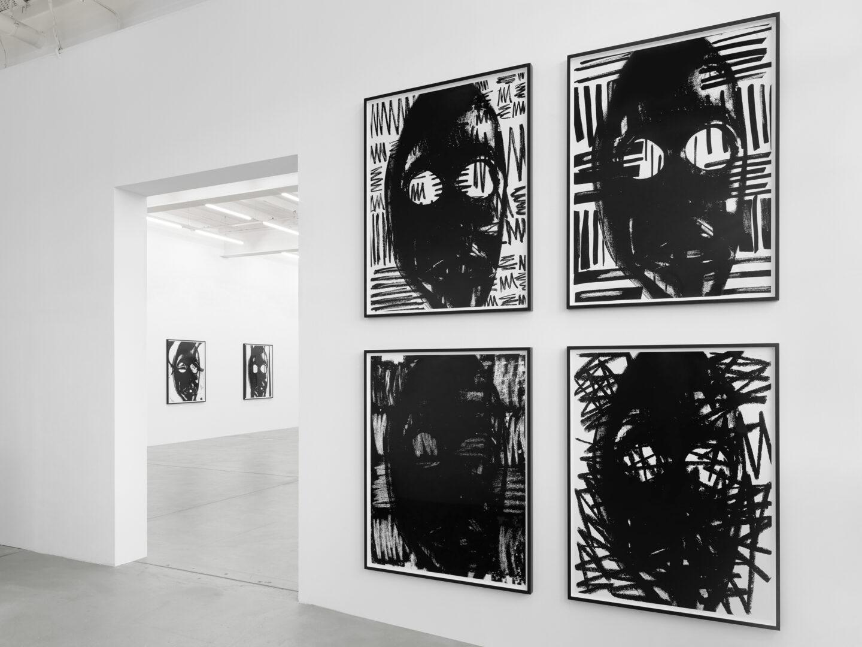 Exhibition View «No Thing: Pope.L, Adam Pendleton» at Galerie Eva Presenhuber, Zurich, 2019 / © Adam Pendleton / Photo: Stefan Altenburger / Courtesy: the artist and Galerie Eva Presenhuber, Zurich / New York
