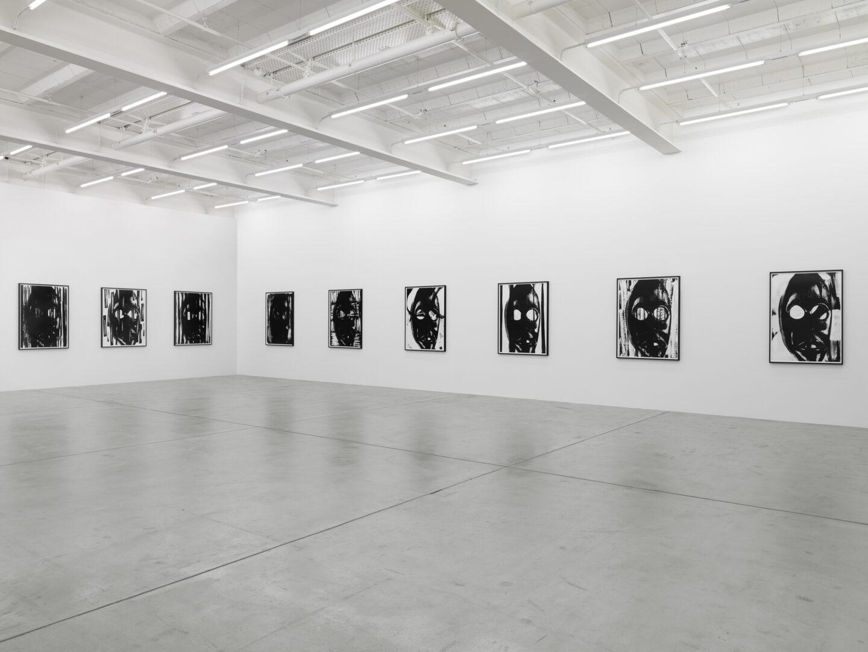 Exhibition View «No Thing: Pope.L, Adam Pendleton» at Galerie Eva Presenhuber, Zurich, 2019 / © Adam Pendleton / Photo: Stefan Altenburger / Courtesy