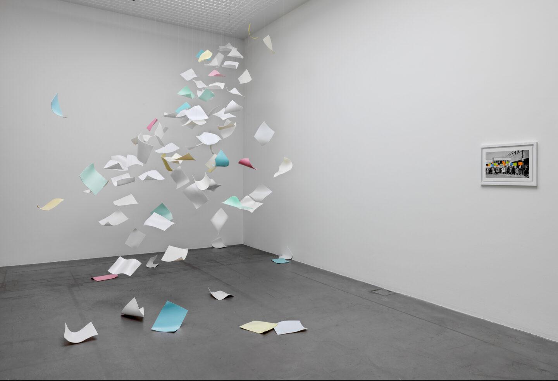 Exhibition View «Concrete Contemporary ; view on Otto Berchem & Amalica Pica, Otto Berchem» at Museum Haus Konstruktiv, 2019 / Photo: Stefan Altenburger