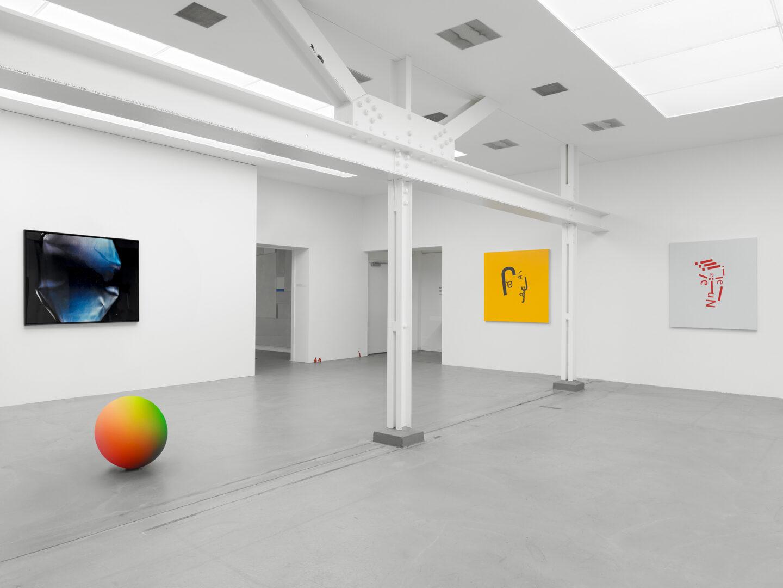 Exhibition View «Concrete Contemporary / Chris Cornish, Jan Kiefer» at Museum Haus Konstruktiv, 2019 / Photo: Stefan Altenburger