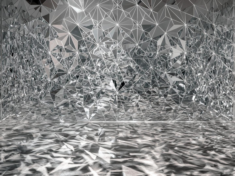 Exhibition view «Concrete Contemporary ; Timo Nasseri, Florenz-Bagdad, 2016» at Museum Haus Konstruktiv, 2019. © 2019, ProLitteris, Zurich / Photo: Stefan Altenburger