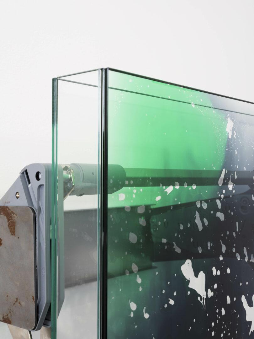 Exhibition View Manuel Burgener Soloshow «Interlude ; Untitled, 2019 (detail)» at Galerie Maria Bernheim, Zurich, 2019 / Photo: Julien Gremaud / Courtesy: the artist and the gallery
