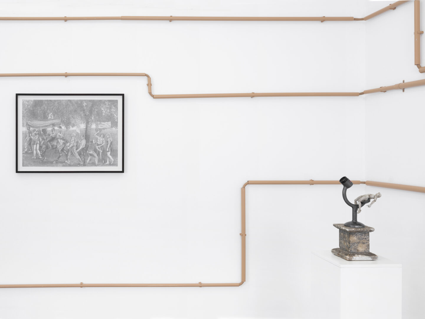 Exhibition View Groupshow «Hatch» at Truth and Consequences, Geneva / Photo: Julien Gremaud / Courtesy: the artist and T&C