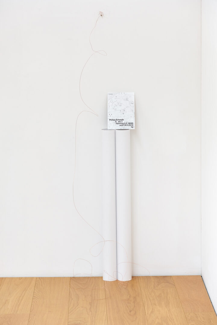 Exhibition View Philipp Schwalb Soloshow «O  Ich T» at Kirchgasse, Steckborn / Courtesy: the artist and Kirchgasse