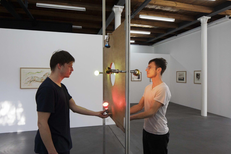 Exhibition View «Discoteca Analitica ;  vie on Tony Martin, You Me We» at Fri Art Kunsthalle, Fribourg / Photo: Thomas Julier / © Fri Art Kunsthalle