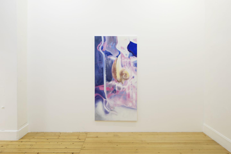 Exhibition View «Discoteca Analitica ; view on Ye Xe, Untitled, 2018» at Fri Art Kunsthalle, Fribourg / Photo: Thomas Julier / © Fri Art Kunsthalle