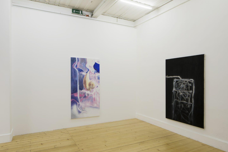 Exhibition View «Discoteca Analitica» at Fri Art Kunsthalle, Fribourg / Photo: Thomas Julier / © Fri Art Kunsthalle