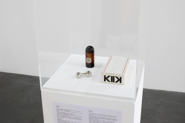 Exhibition View «Discoteca Analitica ; view on François Dallegret, Kiik, 1969» at Fri Art Kunsthalle, Fribourg / Photo: Thomas Julier / © Fri Art Kunsthalle / Courtesy: Courtesy of Edouard Bernard and Galerie Utopie