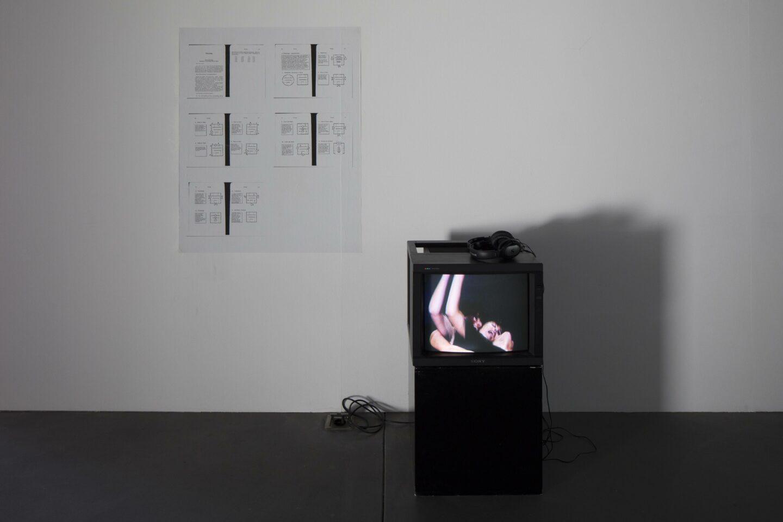 Exhibition View «Discoteca Analitica ; view on Paul Ryan» at Fri Art Kunsthalle, Fribourg / Photo: Thomas Julier / © Fri Art Kunsthalle
