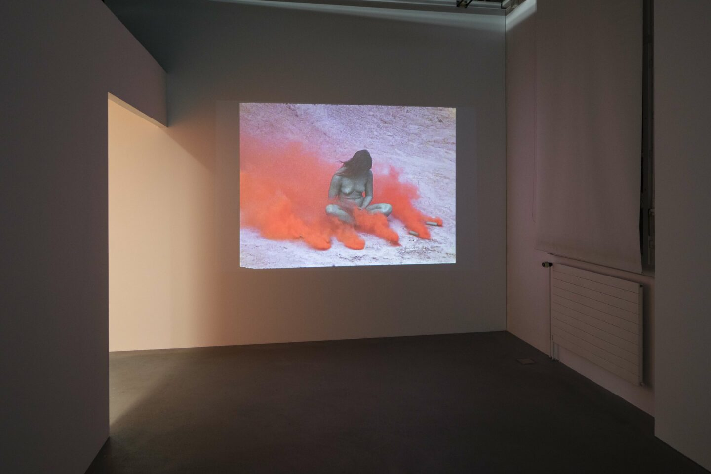 Exhibition View «Discoteca Analitica ; view on Judy Chicago, Women and Smoke, 1971-72» at Fri Art Kunsthalle, Fribourg / Photo: Thomas Julier / © Fri Art Kunsthalle