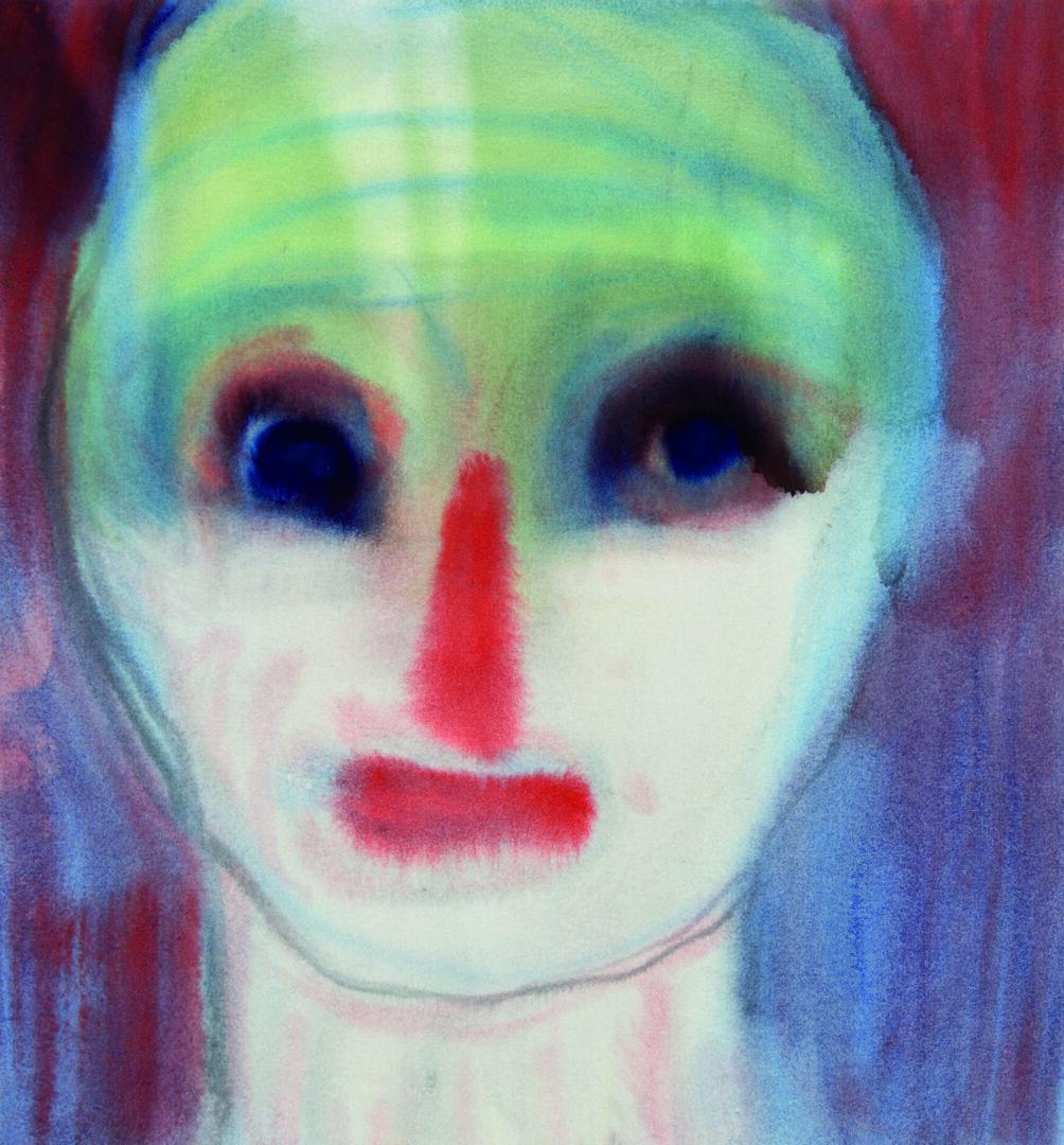 Miriam Cahn «o.t., 18.04.2017, 2017» at Kunstmuseum Bern, Bern / Photo: Stefan Jeske / © Miriam Cahn / Courtesy: Private Collection