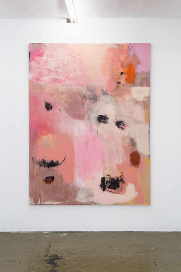 Exhibition View Groupshow «Sarah Margnetti & Megan Rooney ; view on Megan Rooney, How It Is, 2019» at Last Tango, Zurich / Photo: Kilian Bannwart / Courtesy: the artist and Last Tango